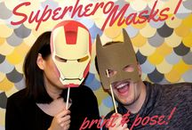 DIY Photobooth Things / Super fun for parties - love Photobooths. They are so easy to set up!!