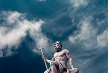 M| Poseidon / Ποσειδῶν God of the sea, storms, horses and earthquakes /Neptune