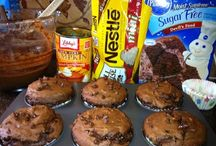 Sweet treats / Sweets, candies, desserts  on hand for when your sweet tooth kicks in :)