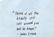 The most beautiful (or funny) quotes