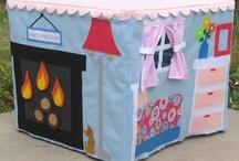 teepee and playhouse ideas