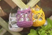 ✿ Crochet Jars ✿