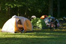 Tents and Sleeping Gear / Tents and Sleeping Gear of 718 Tour and Micro-Tour riders
