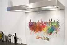 City Series Printed Glass Splashbacks / This board is home to just a small selection of our printed glass splashback designs available to buy online. All of our products are available in any size, colour, pattern or image. So these images are merely a preview of whats available. Log on now to diysplashbacks.co.uk to discover more.