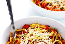 zucchnini pasta