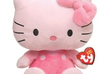 Hello Kitty / Pink Bow, Innocent Eyes, No Mouth...it's Hello Kitty / by Sarita Howe