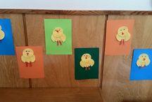 Naše tvoření / Tvoříme s dětmi ve školce :-)