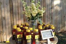 Yellow Flowers with Love  / Outdoor party decor