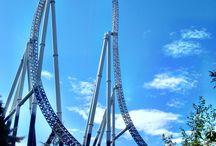 Rollercoasters.