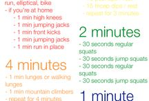 Workout Ideas / by Heather Rasmus