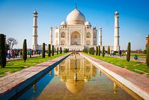 The Taj Mahal Tour / Taj Mahal is a beautiful architecture of the Mughals and represents the one of the best symbol of love. The beautiful building was made with white marble that depicts three color in a day.