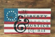 Patriotic Collection / Patriotic products sold by Oak Creek Boutique. www.OakCreekBoutique.com