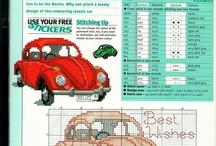 Volkswagen cross stitch