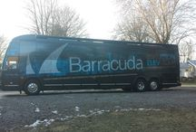 Barracuda 2015 Elevation Tour / Barracuda is hitting the road on our fourth cross-country bus tour – the Barracuda Twenty-fifteen Elevation Tour!