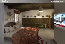 Boutique Hotel By Illustra Design Boutique / We present you a project of ours, a boutique hotel that will blow your mind.
