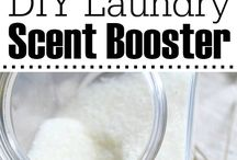 DIY LAUNDRY AND CLEANSERS