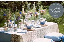 Country Chic wedding / Country chic weddings are a combination of rustic and vintage.
