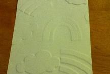 Crafty DIY Embossing Folders