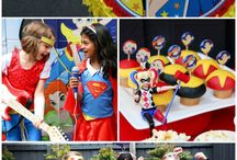 DC Super Hero Girls Themed Party