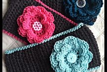 Crocheted Ear Warmers