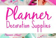 Tuunaustarvikkeita / Anything you need for planners and planning
