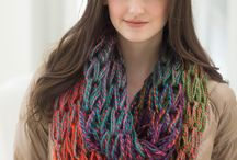 loom knitting / by Joy Hill