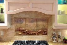 Kitchen Back Splash / kitchen Decor, Custom Kitchen Back Splashes