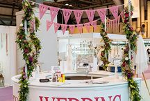 Wedding Fair Stands / Great examples of exhibitors stands (or booths) at bridal shows/wedding fairs
