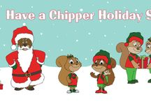 Happy Holidays / Have a Happy Healthy Holiday Season with Chipper! Recycle Crafts, Outdoor Activities, Christmas Ideas and more for parents and teachers to make this winter a Chipper one!