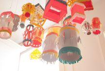 Piñatas y Decoraciones de Papel