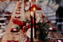 Christmas styled shoot