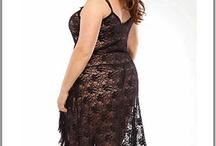 Nuisette grande taille lingerie fine / Nuisette pour femme ronde qui prennent en compte la grosseur de la poitrine et la largeur du ventre et de la taille, en coton ou satin dentelle, voici un large choix de lingerie fine adaptée aux grandes tailles. / by Mode Grande taille