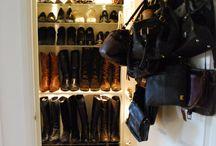 shoe closet / by Elizabeth Hochberg