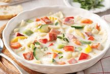 soupe  ( au jambon )