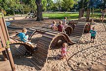 Buiten spelen * Schoolplein * Schoolyard / Ideeën voor een nieuw schoolplein