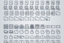 icon outline / by Mir Reina