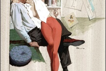 Illustratio'love / Romantic illustration mainly from 1940's to 1960's.