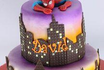 spiderman torta