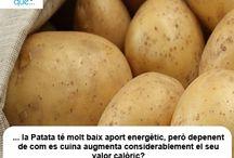 Patata / Patata  / Aquí trobaràs curiositats sobre la patata / Aquí encontrarás curiosidades sobre la patata