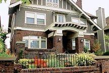 Brick and Stucco Homes