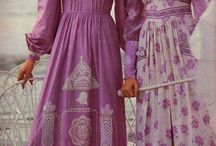 1970s fashion style / Vintage 70s fashion AND inspired by. Victoriana and more.