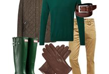 Guy's Fashion: Romantic Countryside Weekend Away Look / So, you're at that stage in the relationship where a weekend break is on the cards. It's time to escape the city and whisk your date away for a weekend of romantic strolls through the hills and drinks in quaint country pubs. Whether the thought of trudging through muddy fields fills you with joy, or dread, we've got three dapper looks that will see you through the weekend. www.urbansocial.com