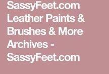 Shoe paint