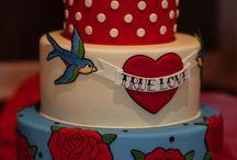 Frida inspired quinceanera cakes