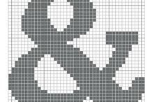 X-stitching/Alphabet ABC / cross-stitch scheme