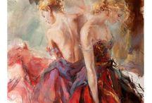 Anna Razumovskaya / Stunning Elegant Artworks from an outstanding Russian Artist.