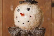 Let it Snow! Let it Snow! Let it Snow!! / Snowmen and winter ideas
