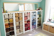 Sewing and Craft Room Ideas / by Calli Taylor