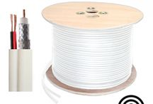 Kabel RG6 Plus Power / Nama Product :RG6 Coaxial Cable with Power Spesifikasi :90% Alumunium Braid Panjang : 300 Meter / Drum Berat : 22 Kg Ukuran : 38 x 38 x 29 Cm Warna : Putih ( White )