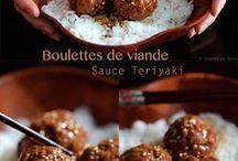 recettes coréennes, japonaises. chinoises...